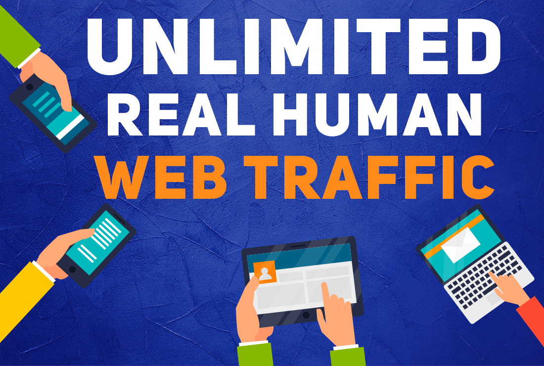 Provide unlimited google traffic with guarantee