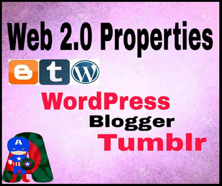 I Will Do 30 Mixed Web 2.0 Properties Manually