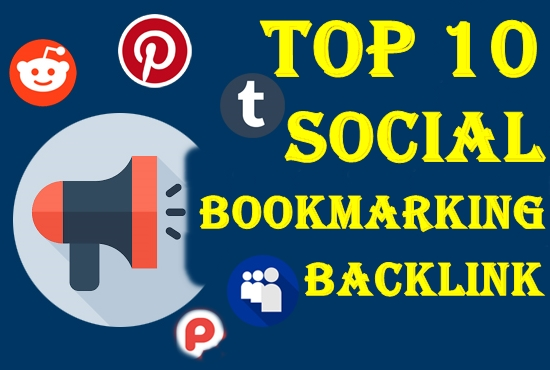 Top 10 manual Social bookmarking with ping you link