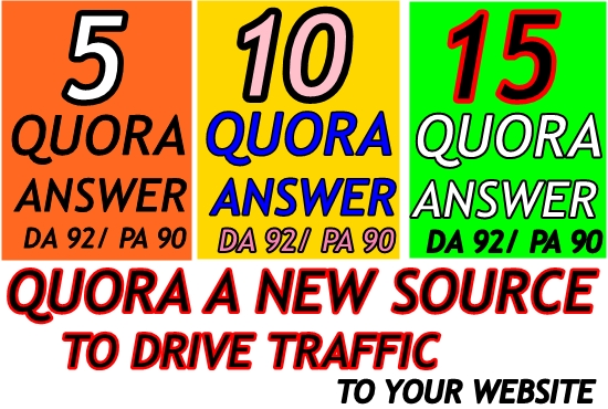 Skyrocket Your Website in 5 Powerful Quora Answer with Backlinks