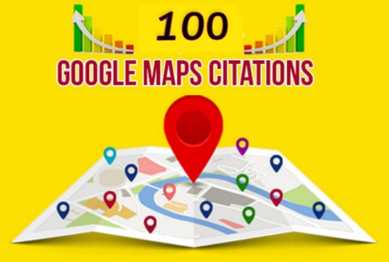I Will Create 100 Google Map Point Citations To Improve Local SEO Business