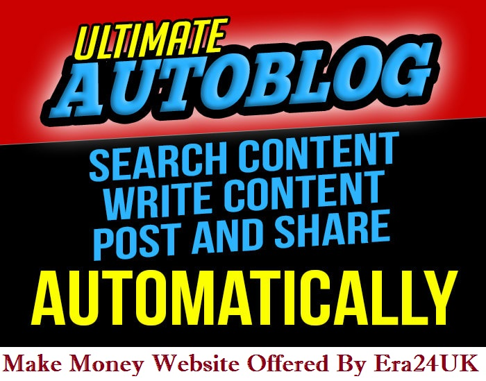 Adsense Ready Unique Content WordPress Auto-blogging Website 2021