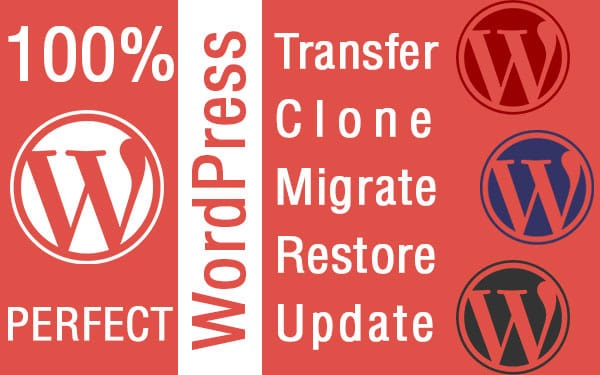 Migrate your WordPress transfer site to another hosting/domain/subdomain