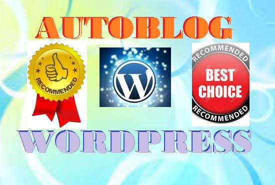 Unique Adsense Ready WordPress Auto-blogging Website