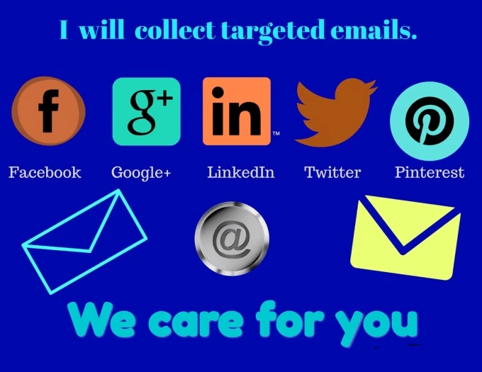Perform web scraping,  email extraction and contacts