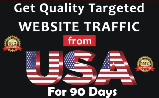 I Will Drive Targeted USA Web Traffic To Website For 90 Days
