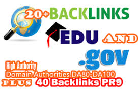 Build 20+ US based EDUs GOV high Authority Backlinks