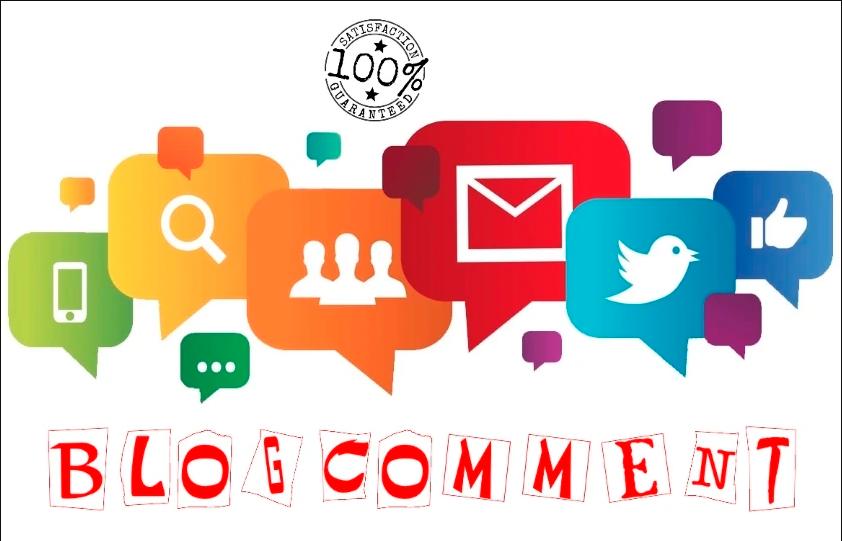 Provide 15 Blog Comment Backlink