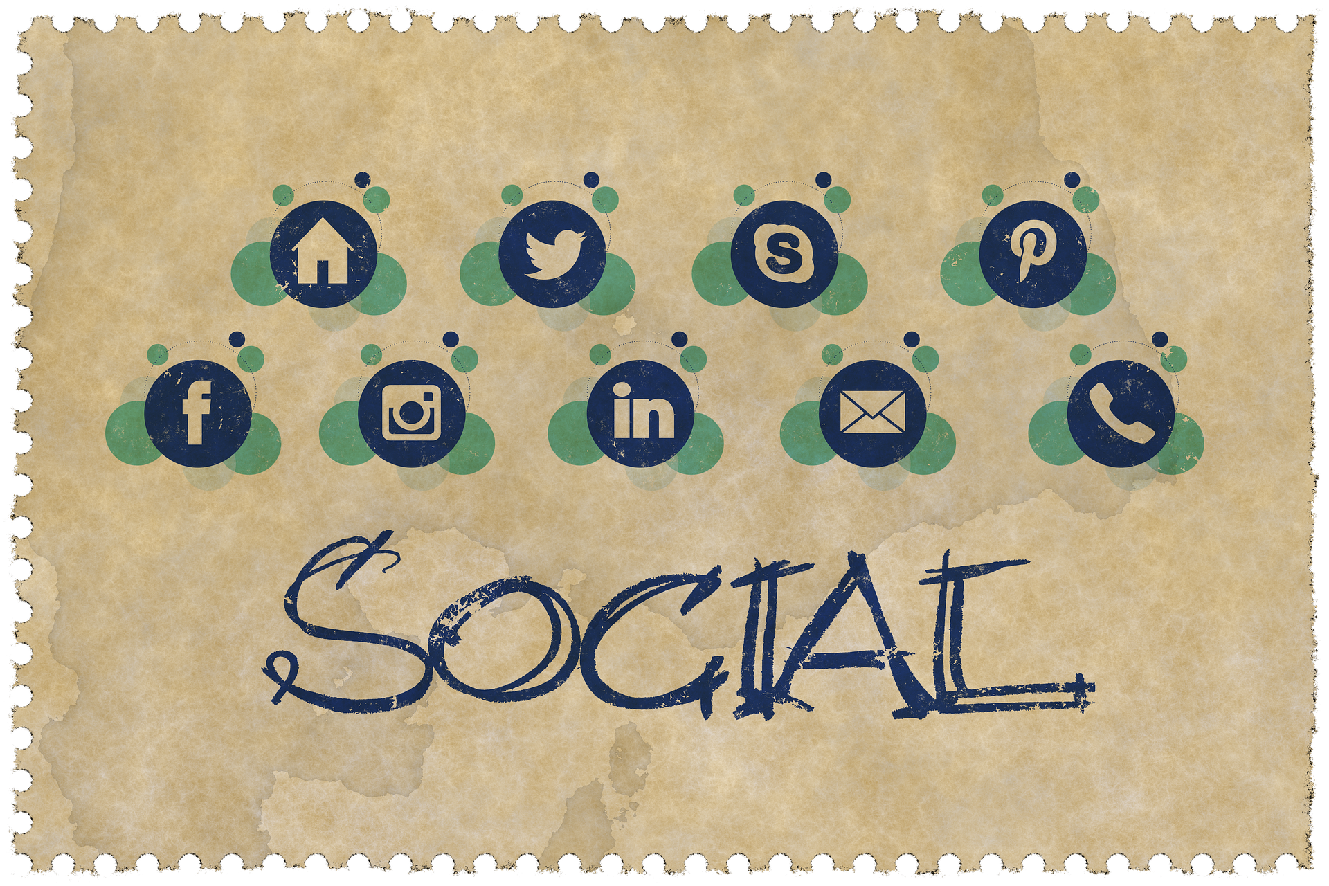 Setup any 4 Social media account profiles and Business Pages