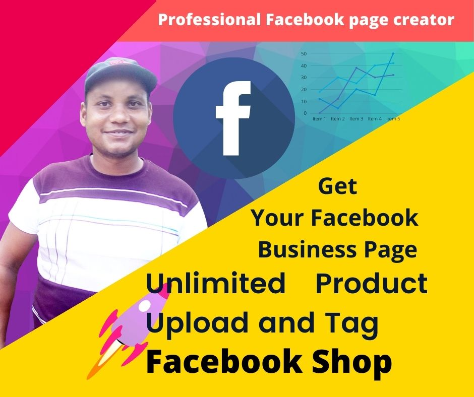 I will create Facebook shop store and business page.