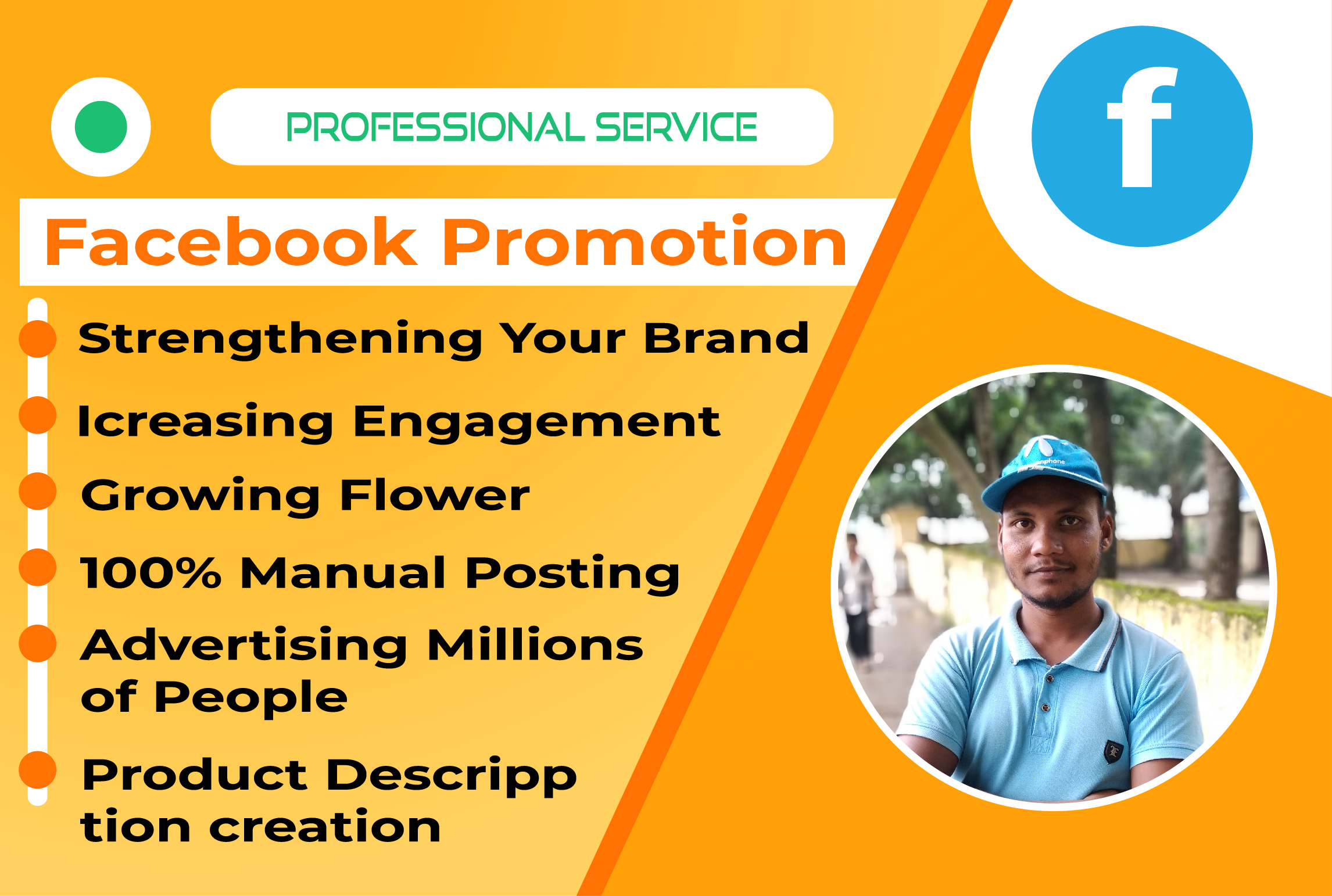 I will do social marketing for your business