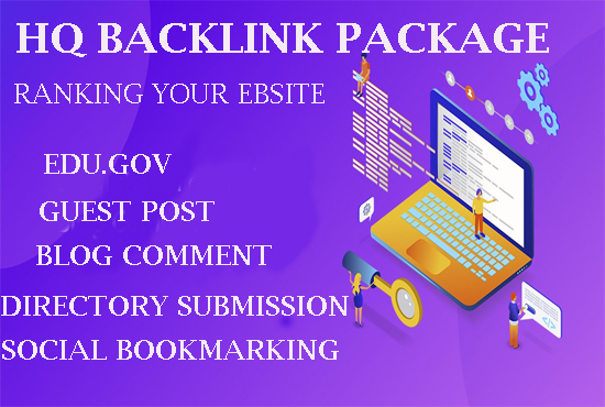 Low Price HQ Backlink Comb Package 2020