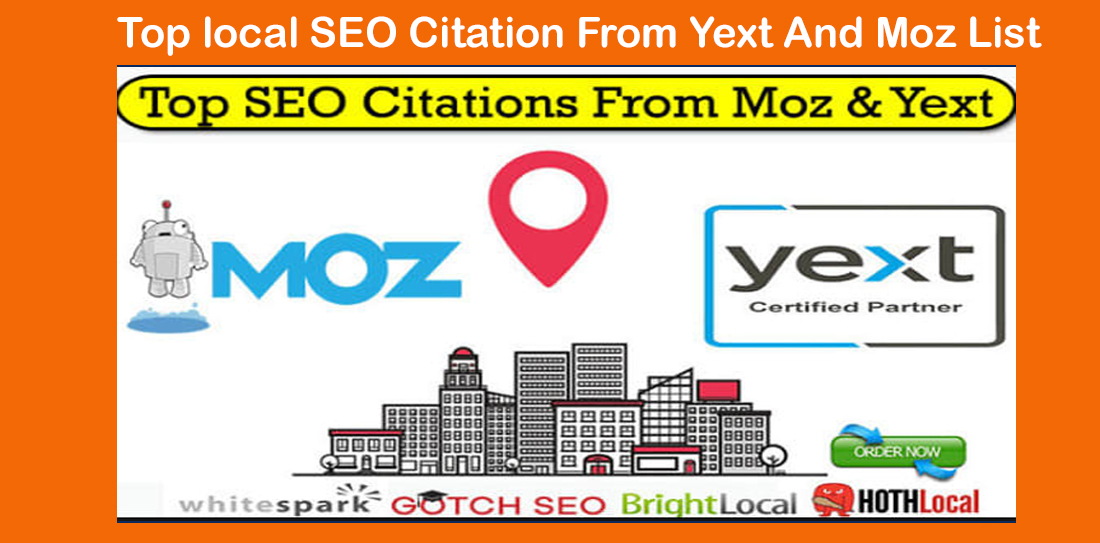 Top local SEO Citation From Yext And Moz List
