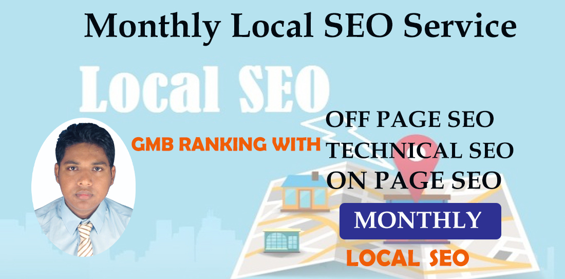 Monthly Local SEO Service For GMB Ranking