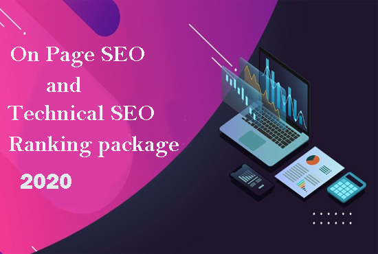 On Page SEO and Technical SEO Ranking package