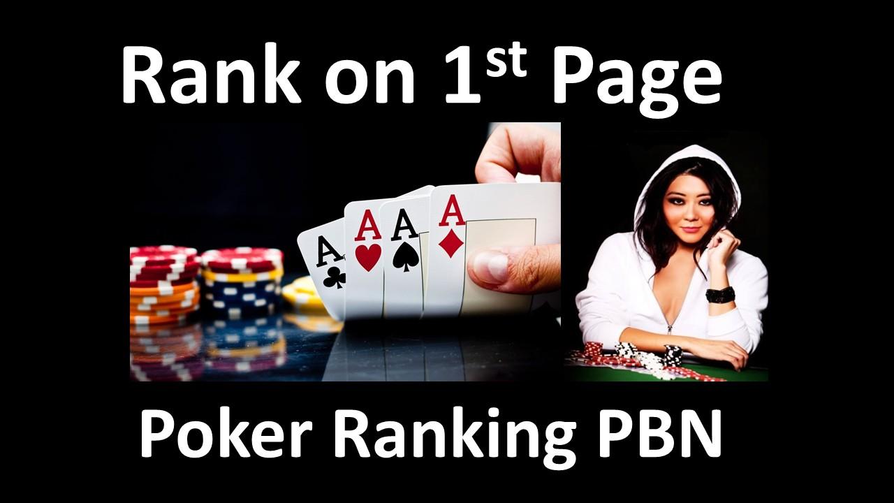 Build 10,000 Powerful SEO Backlinks for Online Poker Casino Club Gambling Websites