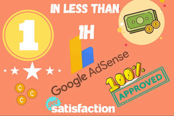 I will Monetize Unlimited Webites with google ads without being approval in less than a Day