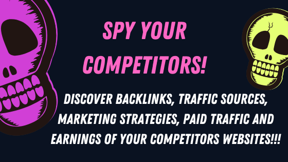 Discover all the Secrets of your Competitors