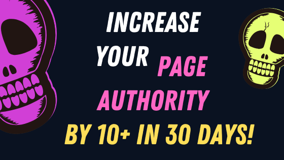 10+ Points of Page Authority in 30 Days