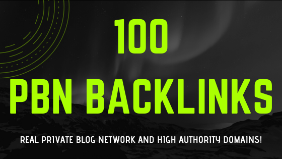 100 Real PBN Backlinks, Proven Results in 30 Days!