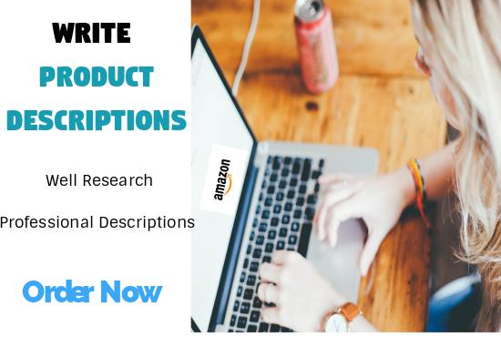 I can write unique 1000 words product description or review article
