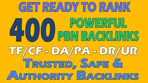 Provide 400 PBN DA 20 TO 25+ homepage dofollow authority backlinks