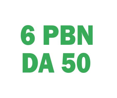 Boost website with 6 Permanent PBN DA 50 PLUS Backlinks