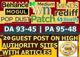 build 10 High Authority Guest Post DA 93-45