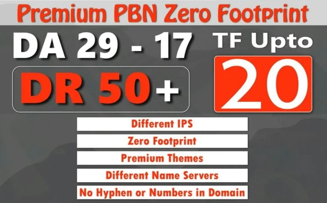 I will do high dr50 tf20 pbn homepage backlinks