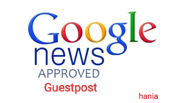 I Will do Guest Post On My Google news approval website