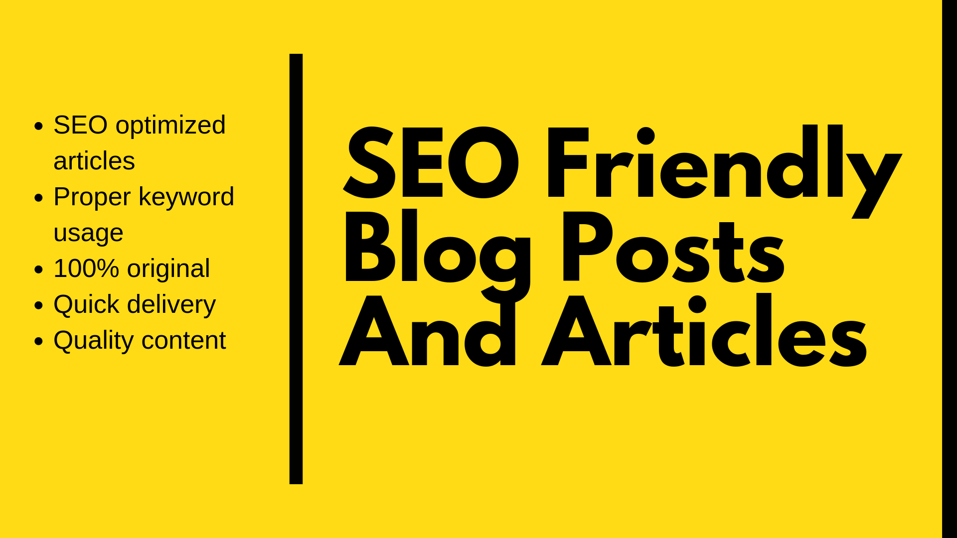 SEO Friendly Blog Post Or Article Writing