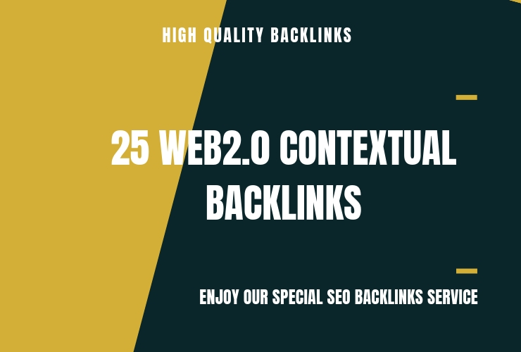 I'll Do 25 Web 2, 0 Contextual Backlinks