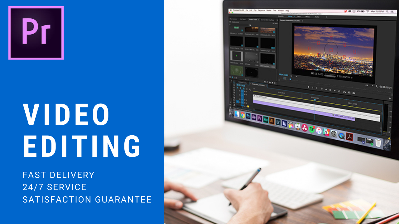 Edit Your Videos Professionally within Few Hours