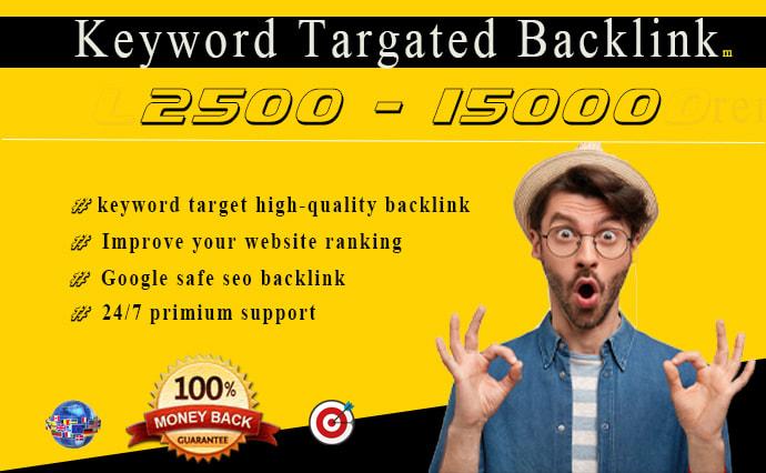 I will drive keyword targeted organic web traffic from google