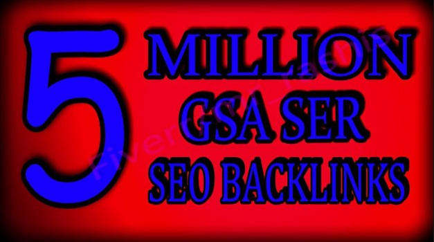 5 Million verified GSA Backlink for websites, videos to achieve your goal