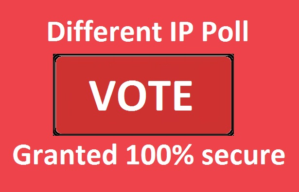 Give offer amazing 200 different IP votes your online contest voting entry polls for 5