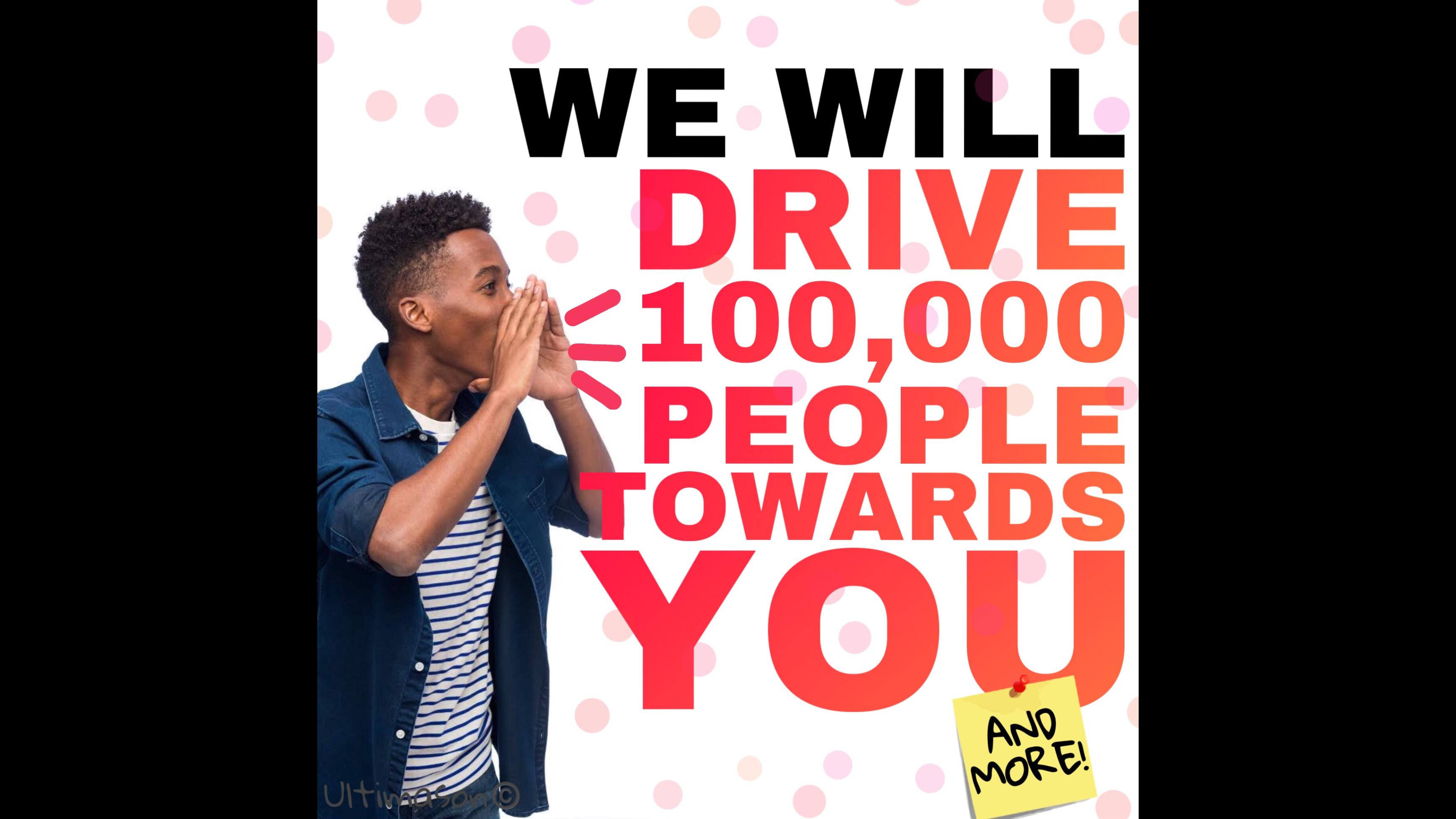 100,000 Social Media Traffic Funnel