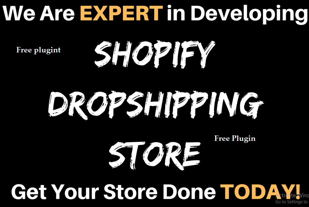 Creat Shopify Store With E-Commerce Website