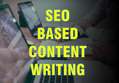 SEO Content Writing with selected keywords