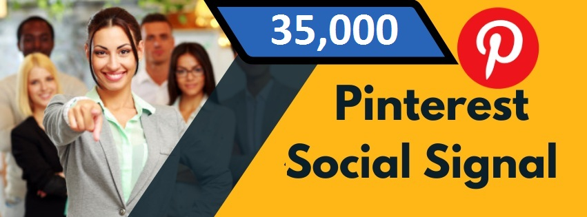 Provide 35,000 Pinterest Social Signal Share manually Service HQ SEO PBN Backlink Boost Bookmark