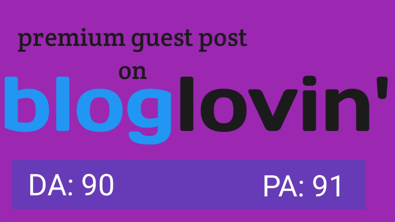 I will do post your article on bloglovin. com 80+ DA PA