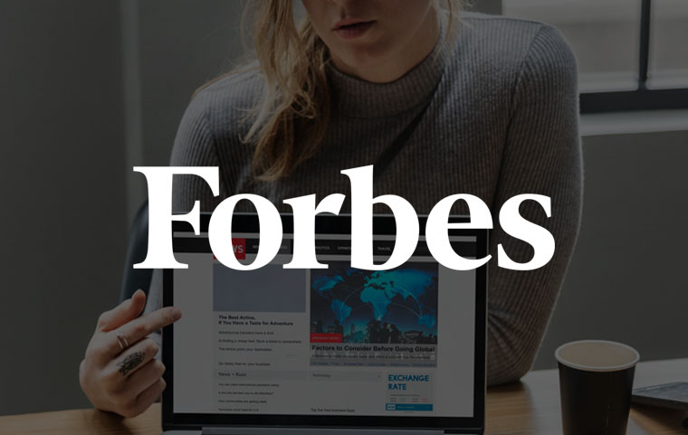 Forbes feature article - Forbes. com PUBLICATION in 1 WEEK