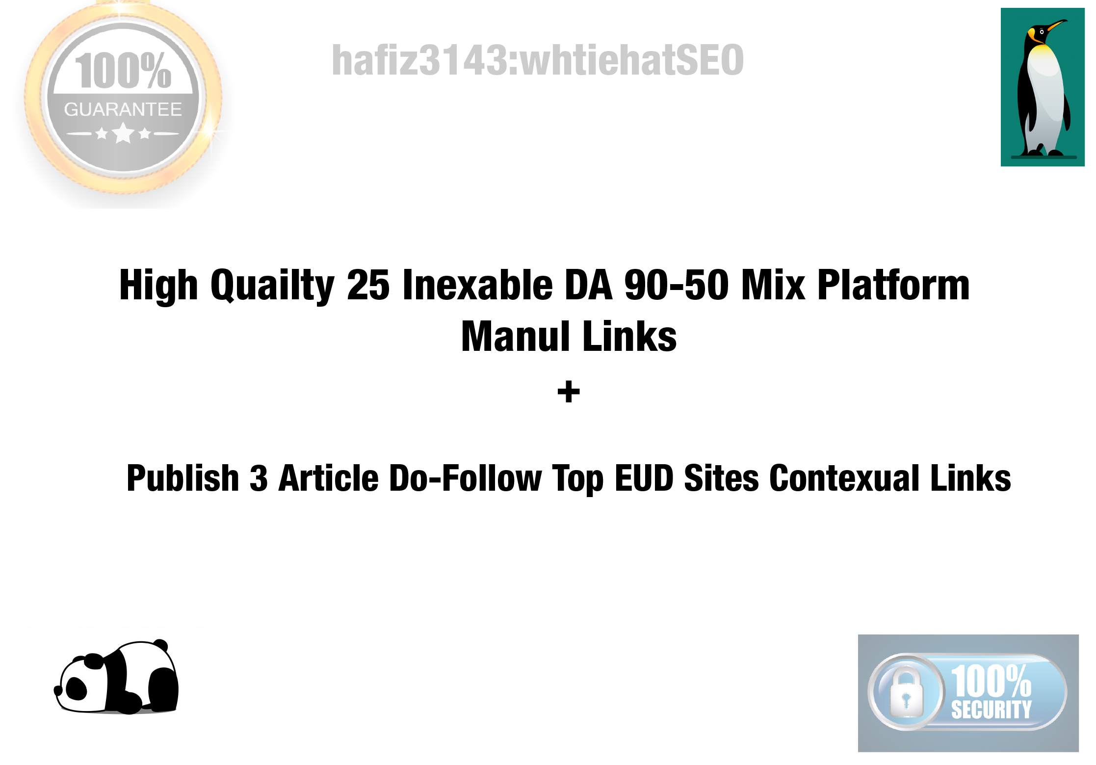 DA 90-50 Most Trusted Website Indexable White Hat SEO Backlinks Plus Include 3 Edu Contextual Links