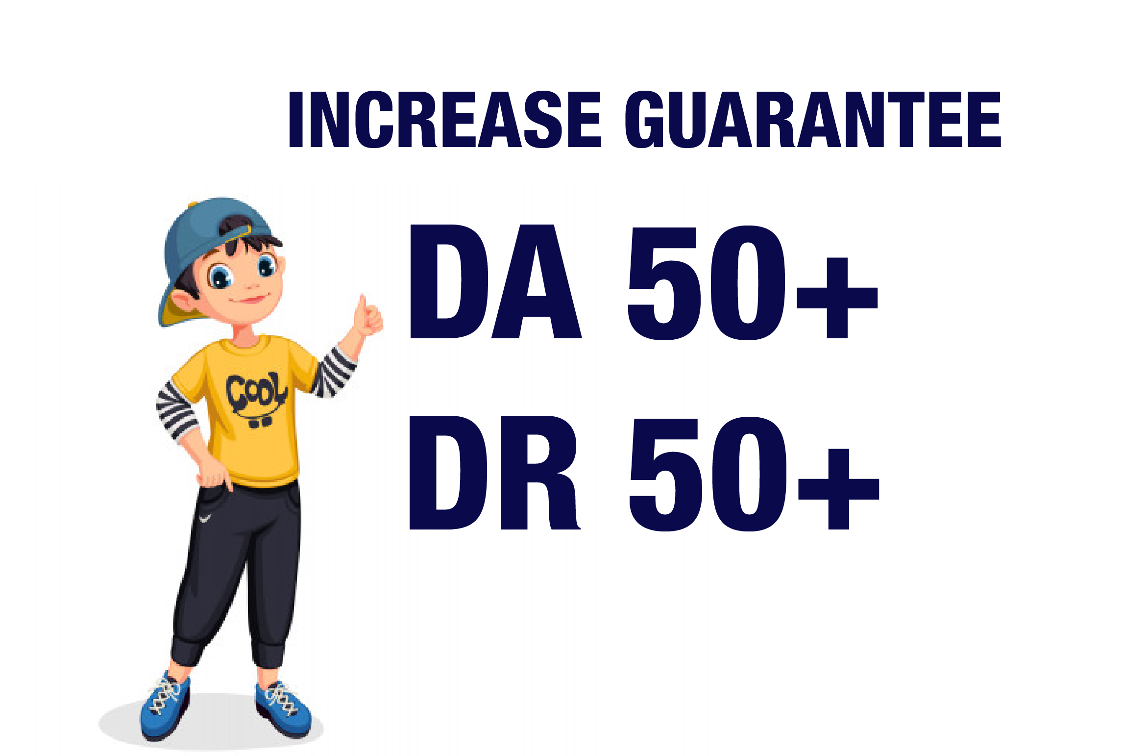 I will Increase Moz Domain Authority Moz Da 50 plus and Increase Ahref Dr 50 Plus