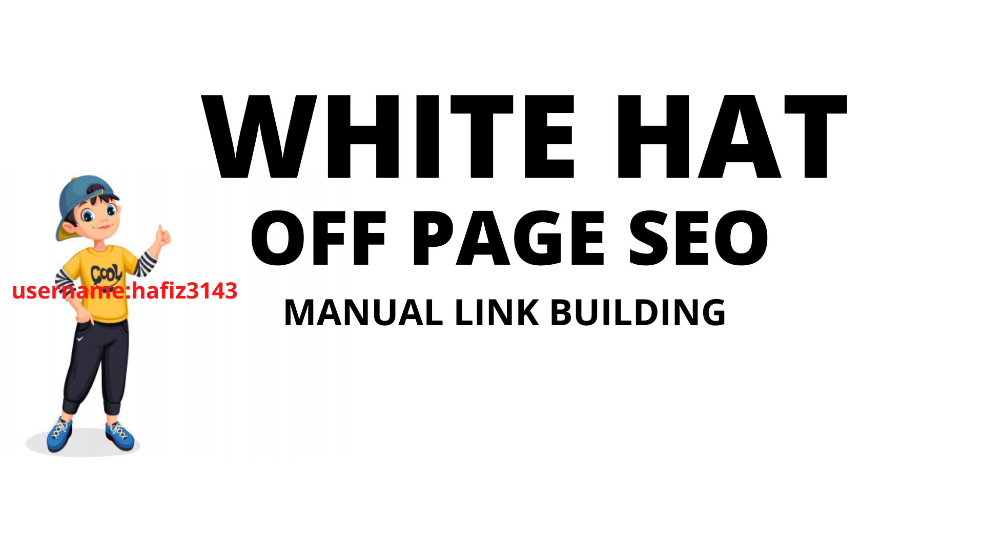 Manual White Hat SEO High Quality Link Building Service OFF Page SEO Backlinks