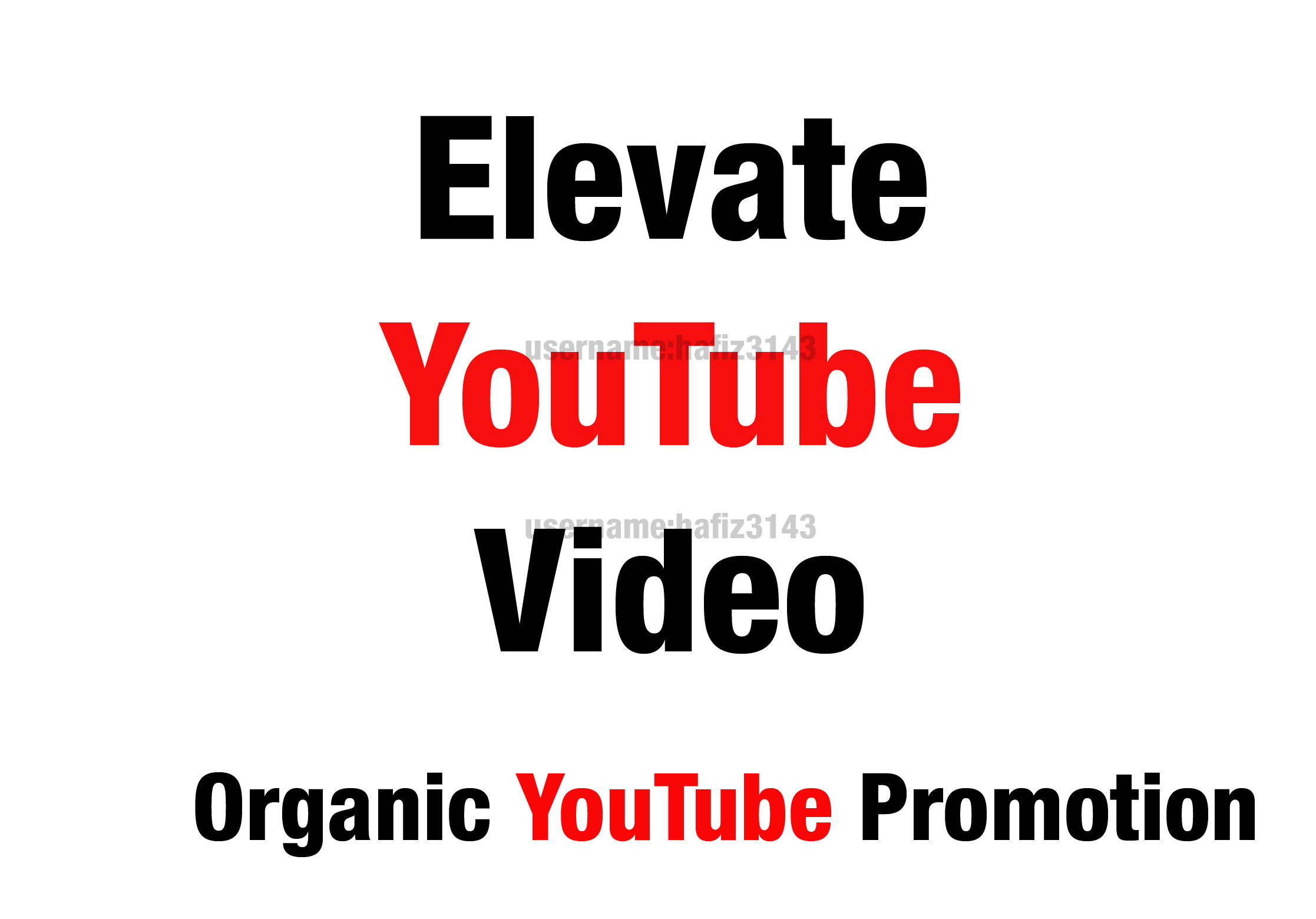 I will do organic YouTube video promotion Viral YouTube Video