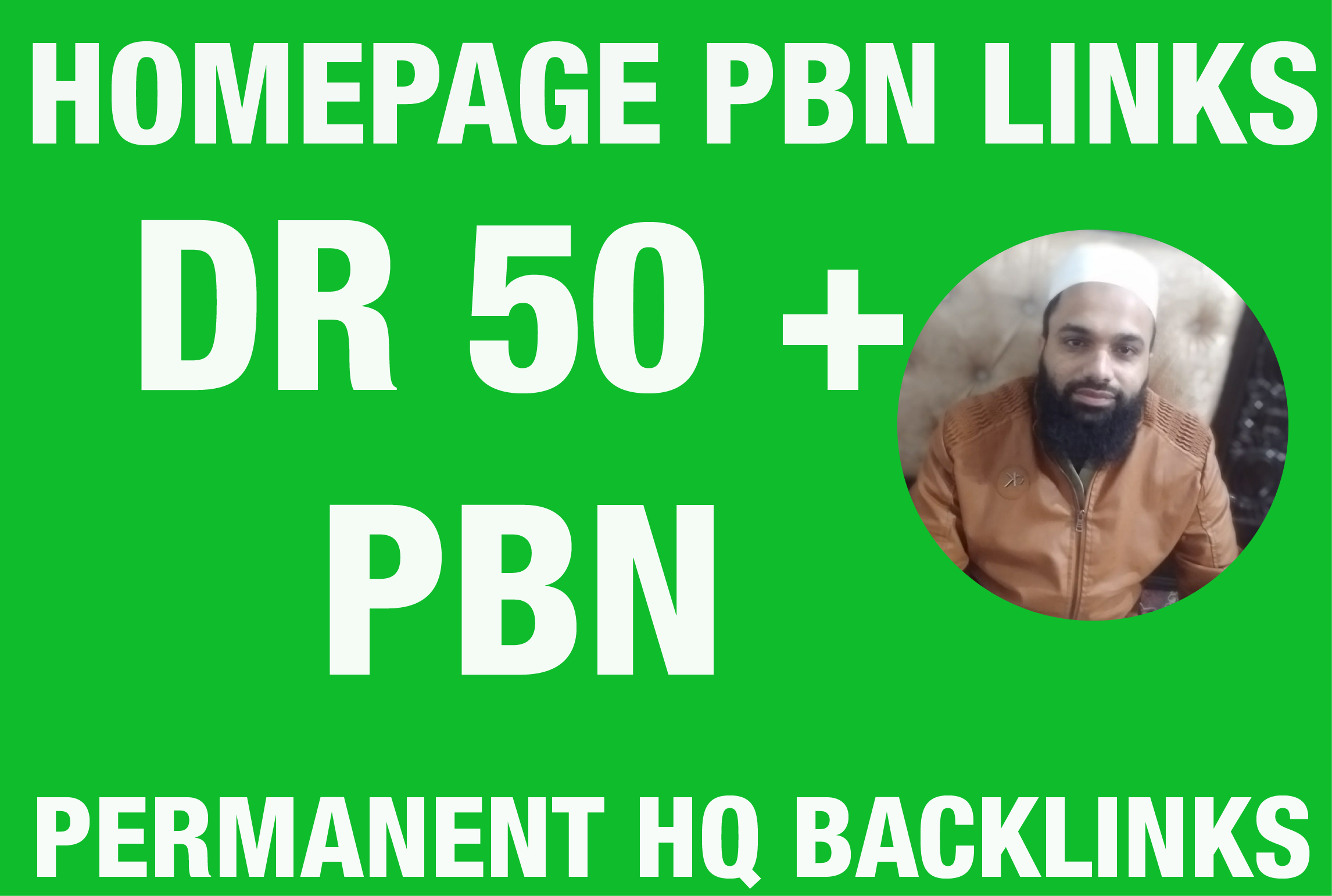 I will Provide 5 DR 60 Homepage PBN Backlinks