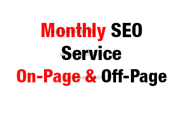 I will Provide Monthly SEO Service On Page & Off Page SEO For Top Google Ranking