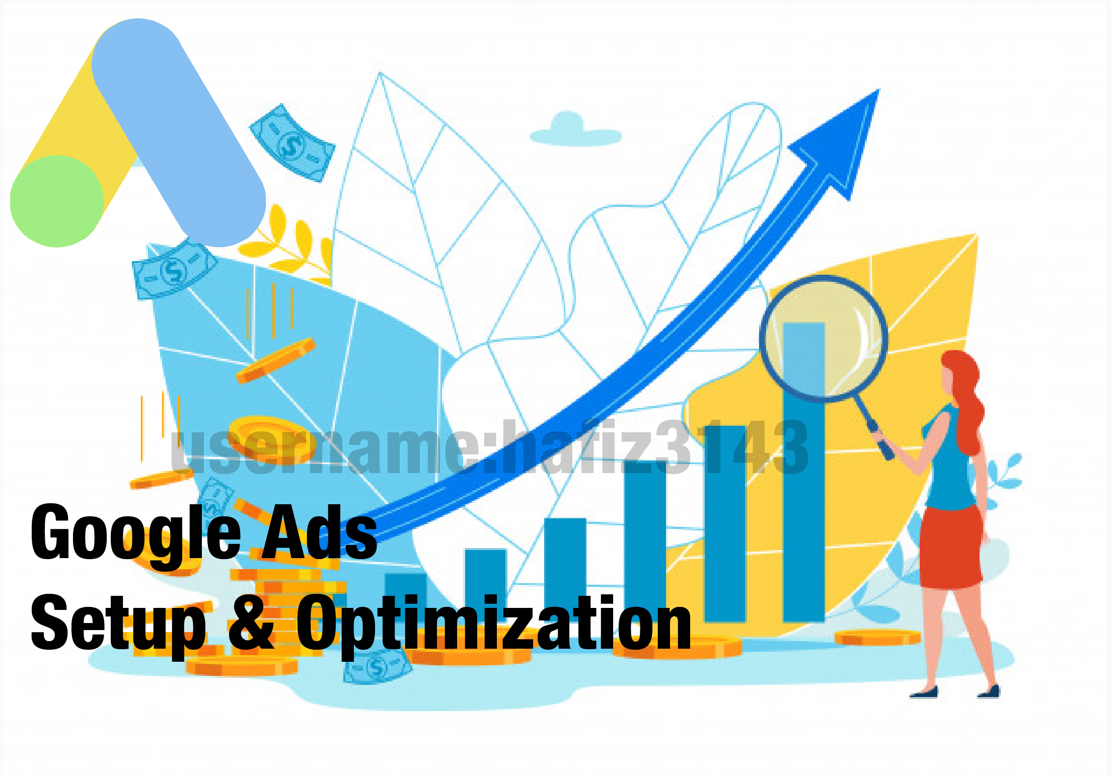 I will set up a google ad for your Youtube Promotion