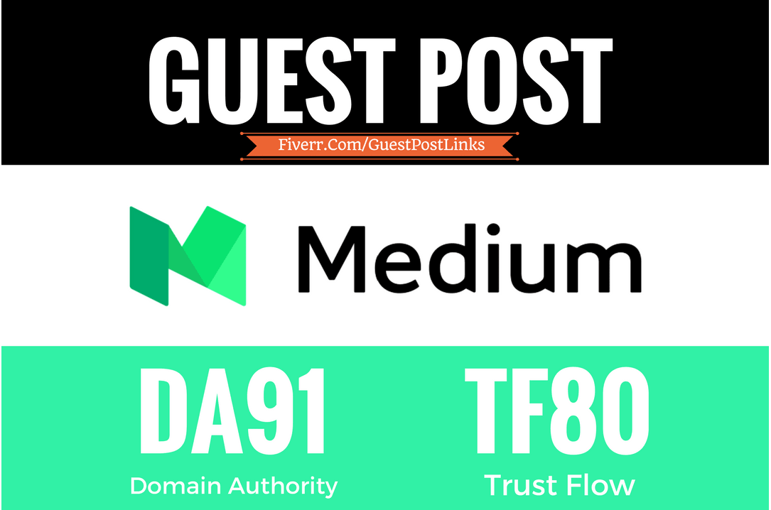 Post A Premium Guest Post Backlink On The Medium 90+ DA Site
